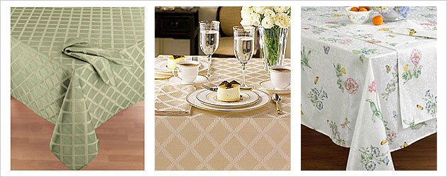 Lenox Laurel Leaf Tableclothes