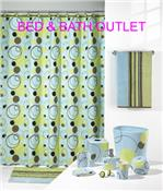 """Circle Game"" Bath Ensemble by Echo Home from Creative Bath Products"