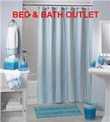 South Beach Stripe Bath Ensemble by Saturday Knight Ltd.