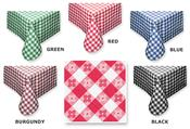 Tavern Check Vinyl Table Cloth by Fairfax Collection