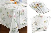 Butterfly Meadow tablecloth by Lenox from Bardwil Linens