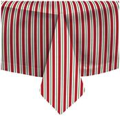 Holiday Accent Stripe Cotton Tablecloth by Waverly