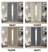 Colton 3 in 1 Room Darkening Window Panels by Elrene Home Fashions