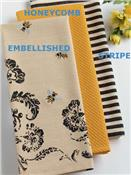 Busy Bee Cotton Dishtowels by Design Imports