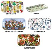 Decorative Melamine Serving Trays by Boston International