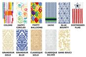 Abstract and Design Paper Guest Towel Napkins by Ideal Home Range
