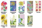 Florals and Plants Decorative Paper Guest Towel Napkins by Caspari