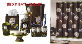 Awesome Owls Bath Ensemble by Challis and Roos from Allure Home Creati