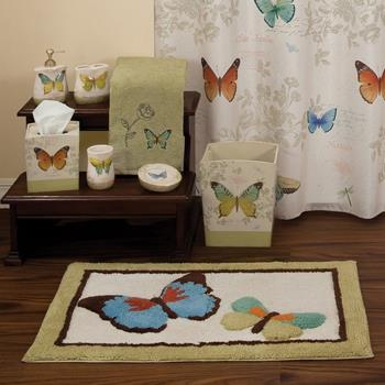 Butterfly Bliss Bath Ensemble by Saturday Knight Ltd.