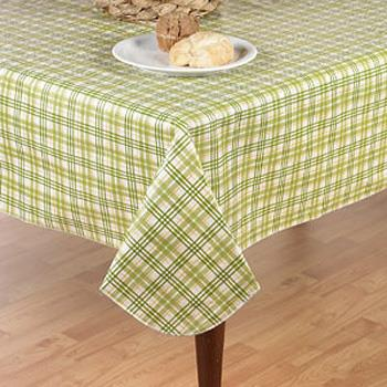 Homestead Plaid Flannel Back Vinyl Tablecloth by Newbridge