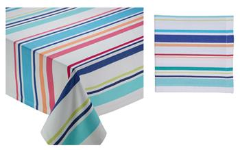 Beachy Keen Cotton Indoor Outdoor Table Linens by Design Imports